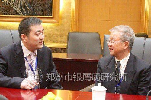 刘长江专家与叶顺章交流看法